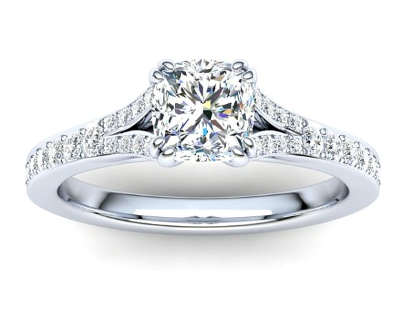 R077 Ballencia Diamond Engagement Ring PM
